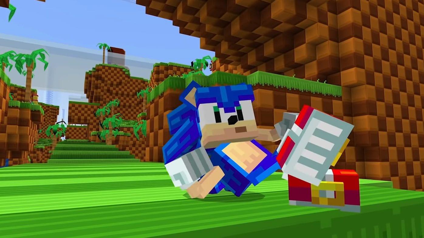 Minecraft trifft Sonic Das steckt in dem Sonic the Hedgehog DLC