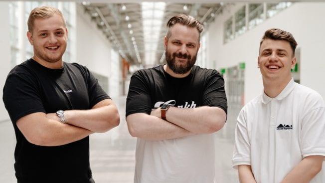 Gronkh, Trymacs und Papaplatte auf der Spielesause gamescom 2021