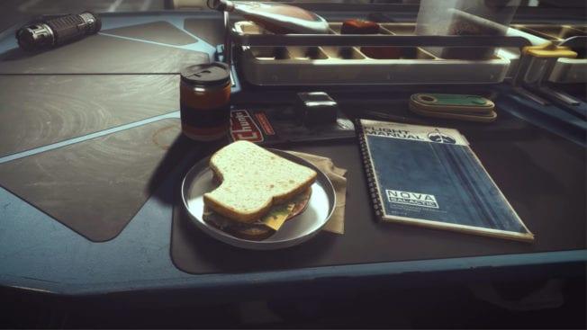 Starfield Sandwich