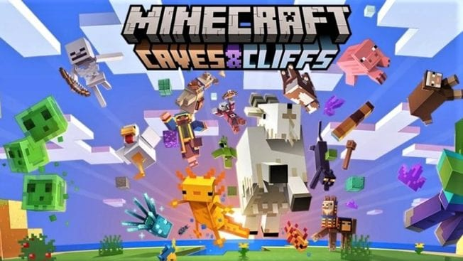 Minecraft Caves and Cliff Release