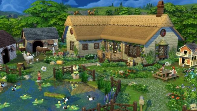 Die Sims 4 Landhaus Leben