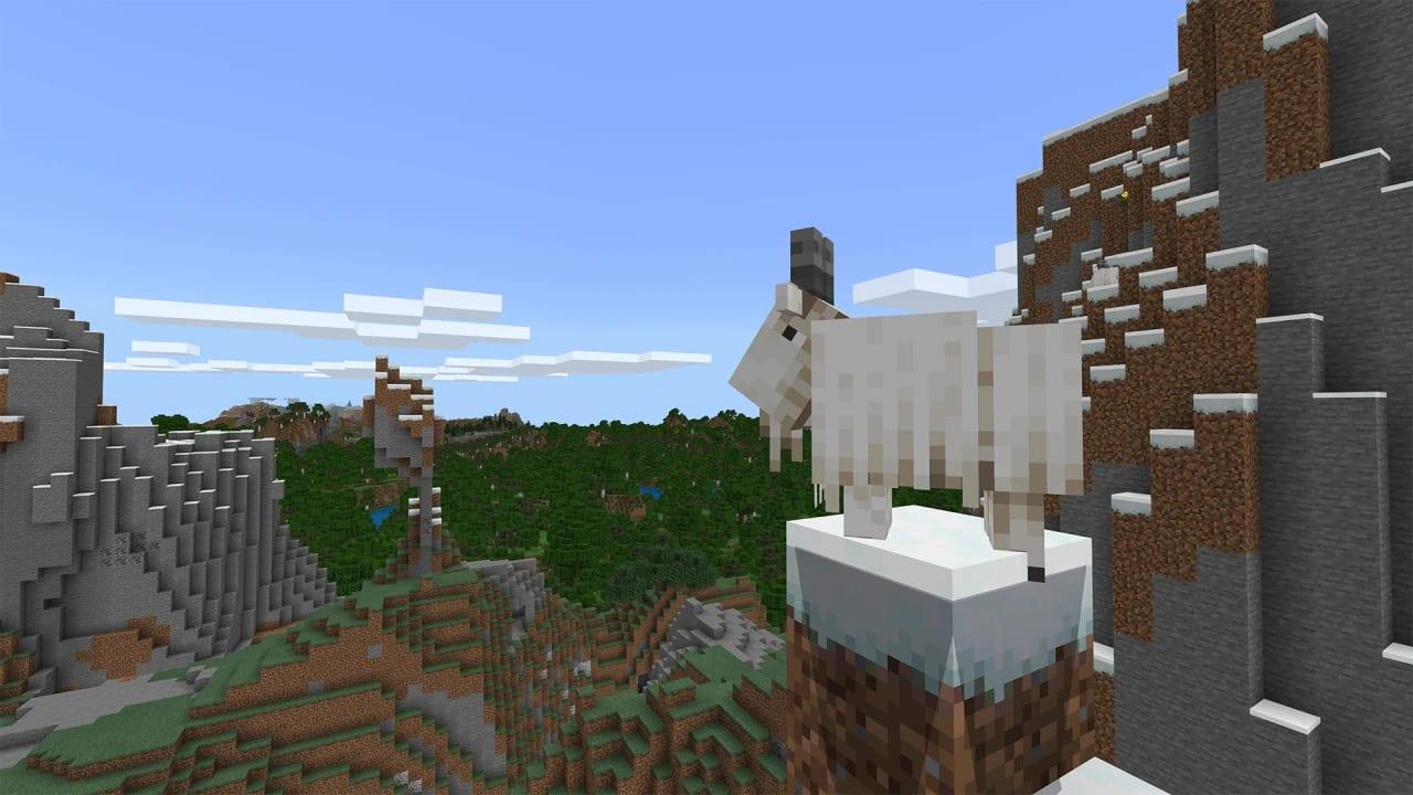 Minecraft 1.17 Release Teil 1 Ziege