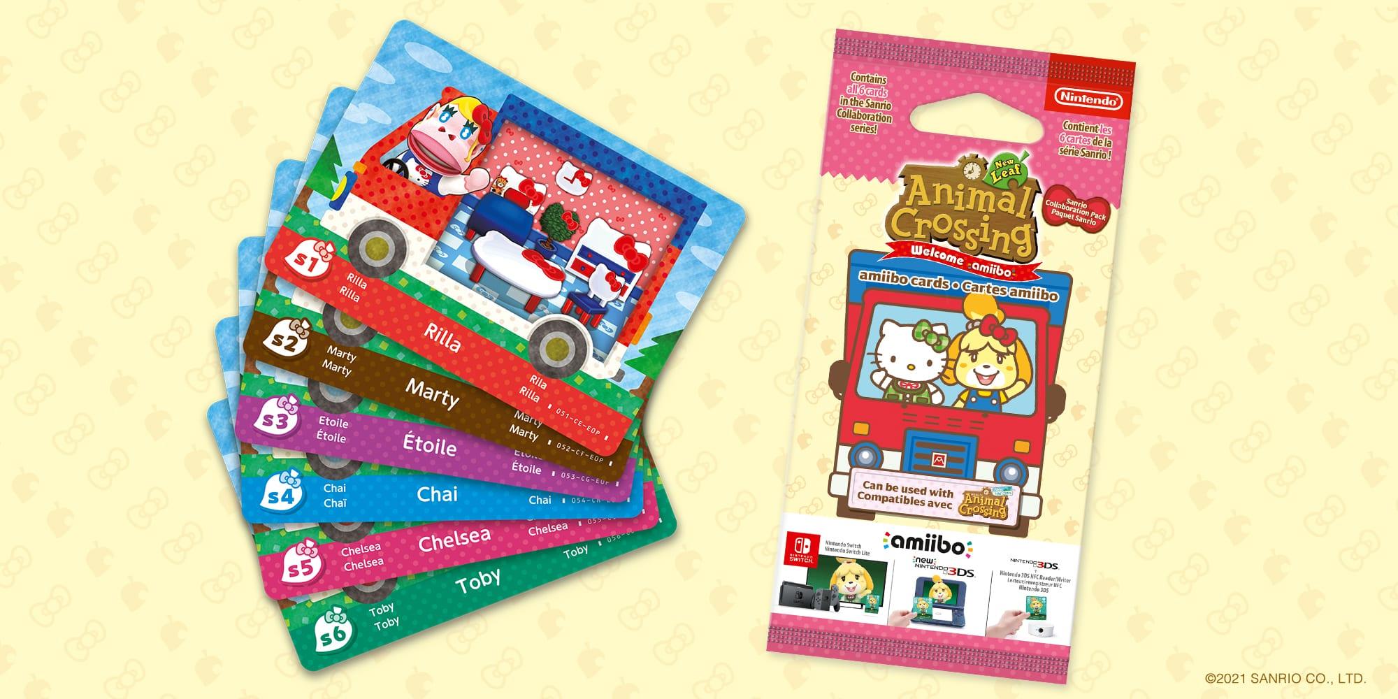 Animal Crossing New Horizons Sanrio Karten
