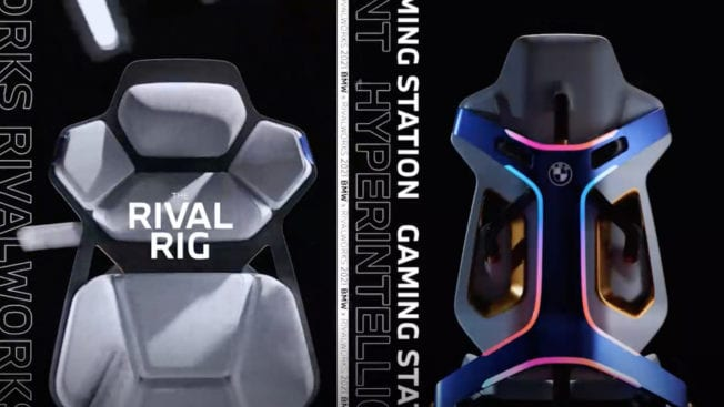 BMW Gaming-Chair 2