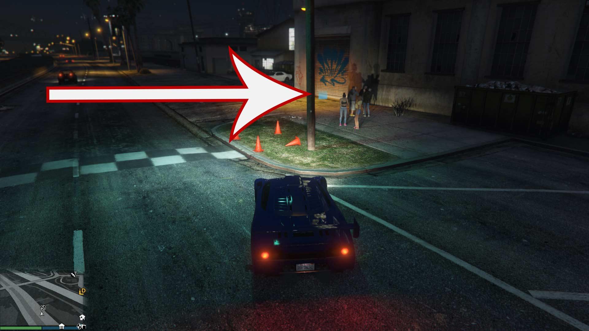 GTA Online LS Car Meet Location