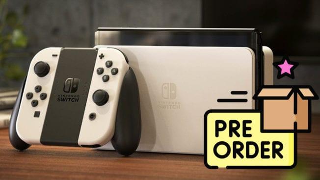 Nintendo Switch OLED Modell vorbestellen