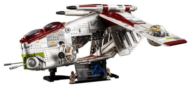 Star Wars LEGO - Republic Gunship 3