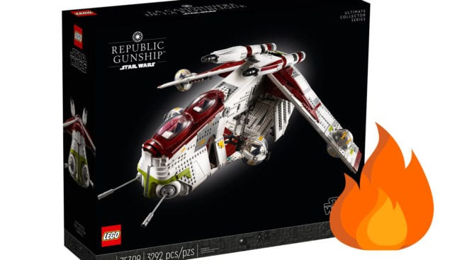 Star Wars LEGO - Republic Gunship
