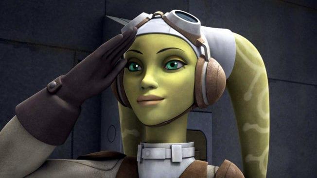 Star Wars The Bad Batch Rebels Hera Syndulla