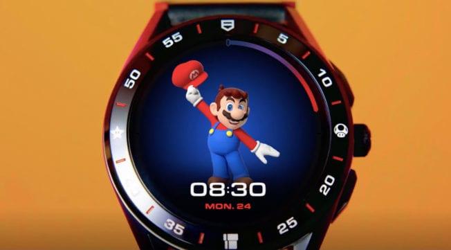 Super Mario Uhr