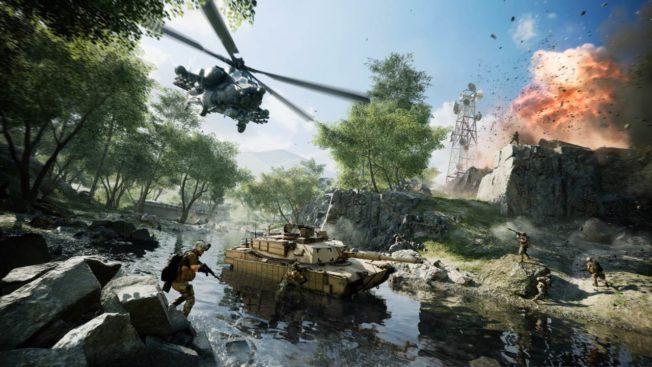 Battlefield 2042 Caspian Border