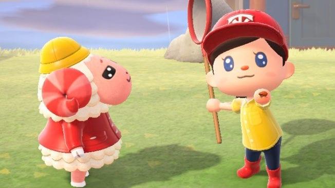 Animal Crossing New Horizons Insekten