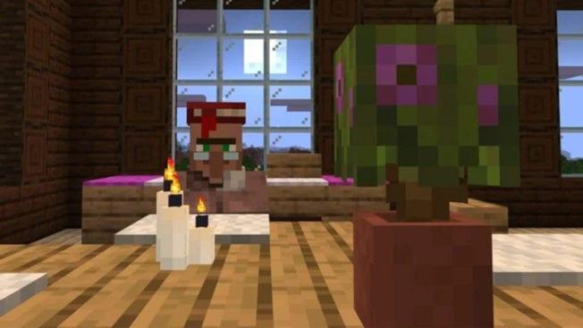 Minecraft bekommt mit Update 1.17.10 auch Kerzen und Azaleen im Topf.