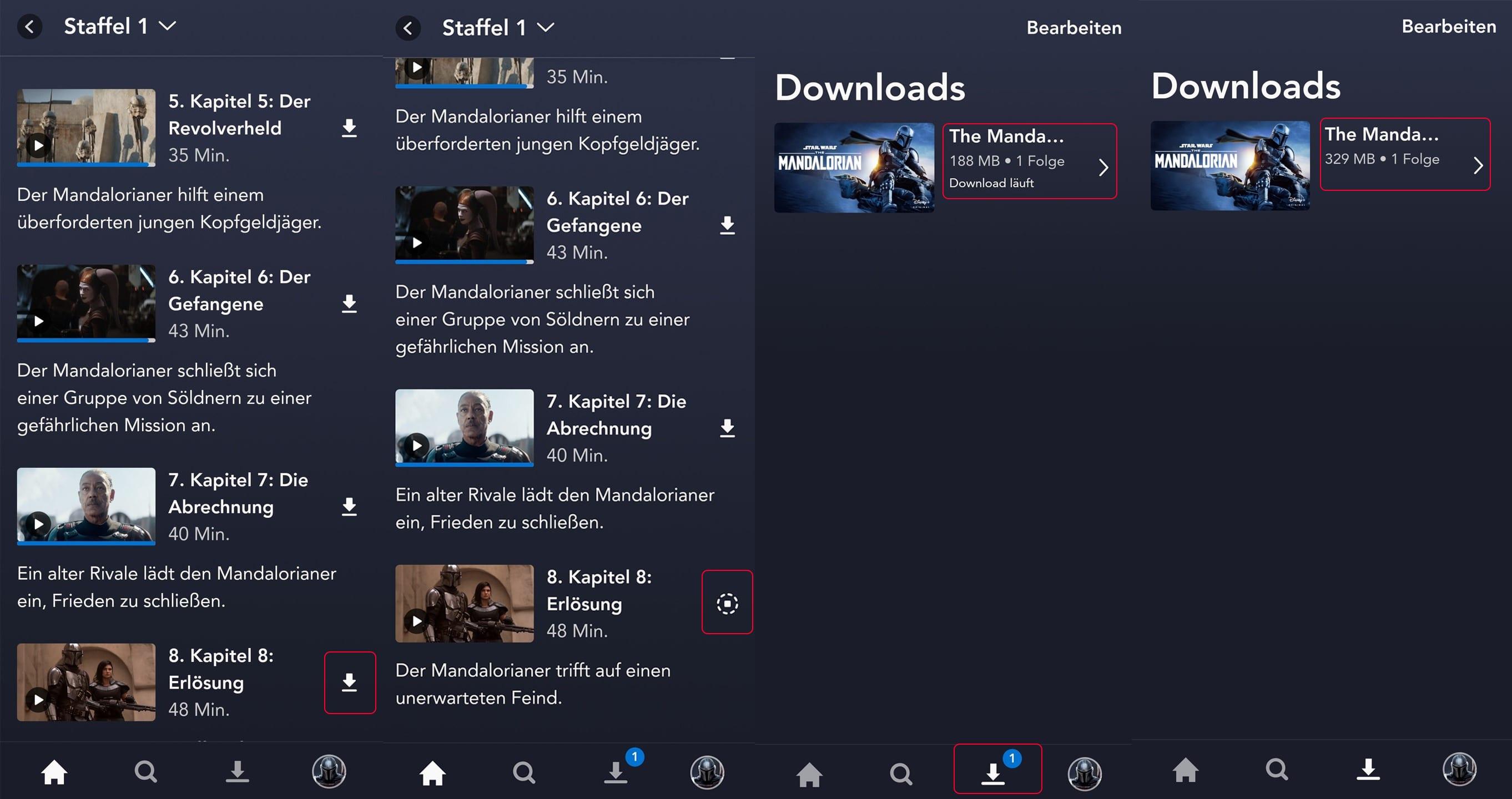 Disney Plus Downloads App