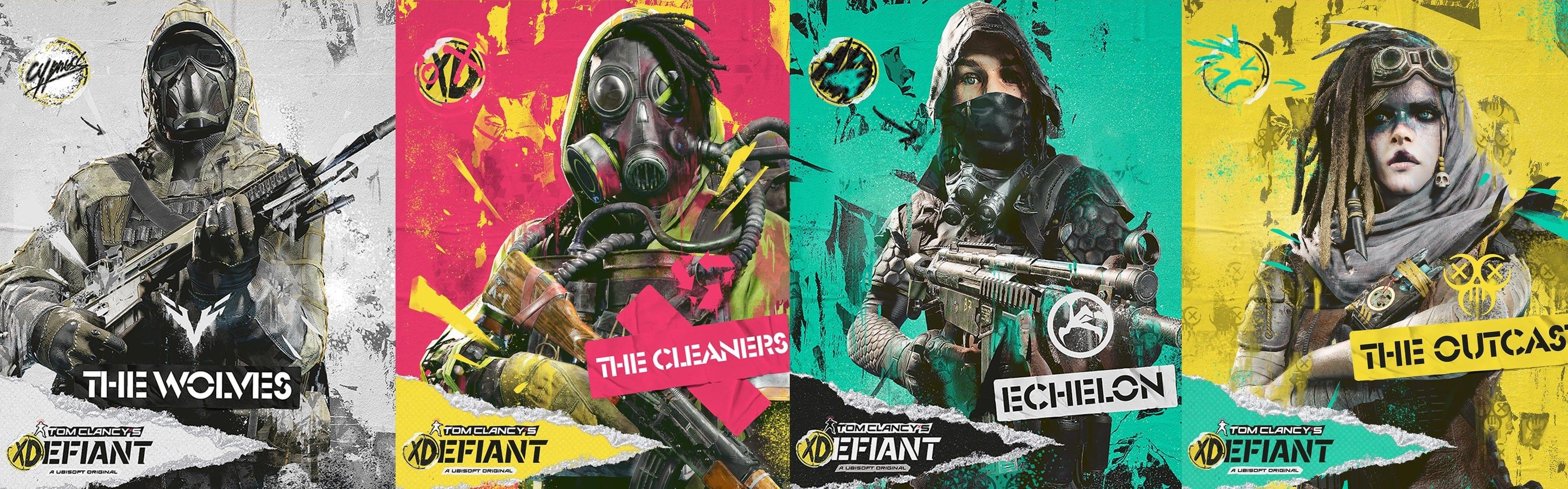 Tom Clancy's XDefiant Fraktionen