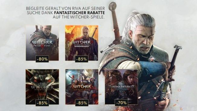 The Witcher Angebot kostenlos