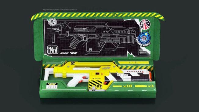 Aliens Die Rückkehr - Waffe - Merch - Nerf-Blaster von Hasbro und NERF 2