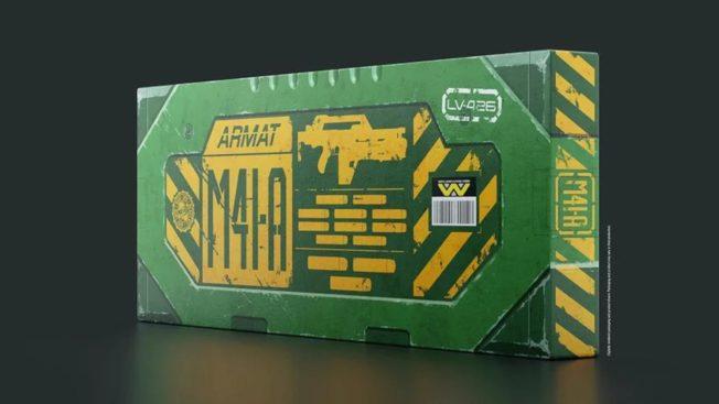 Aliens Die Rückkehr - Waffe - Merch - Nerf-Blaster von Hasbro und NERF 3