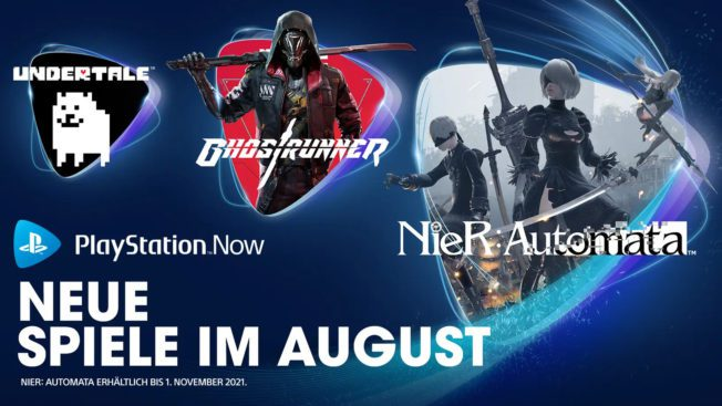 PS Now im August 2021