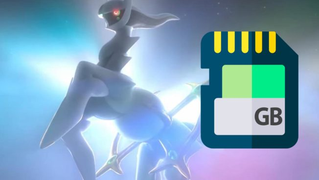 Pokémon Legends Arceus - Arceus Mysteriöses Pokémon - Filesize