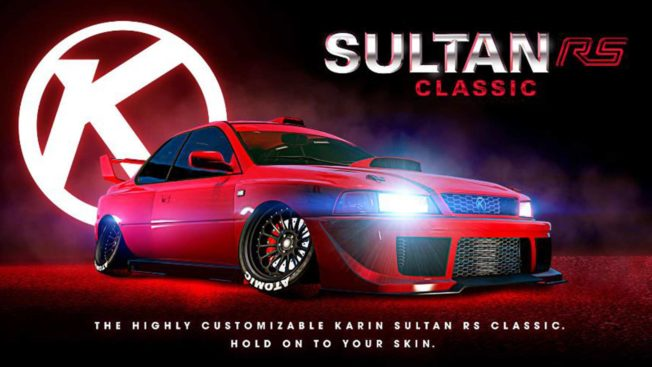 GTA Online - Sultan RS Classic
