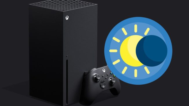 Xbox Dark Mode