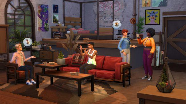 Für Die Sims 4 gibt es jetzt ein Industrie-Loft-Set und eine kostenlose Kunst-Kooperation mit Ohni Lisle.