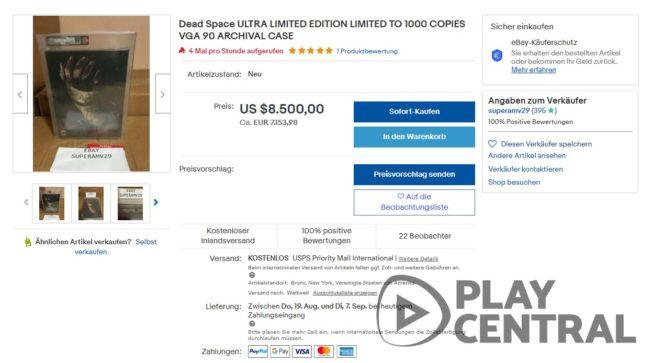 ebay Dead Space