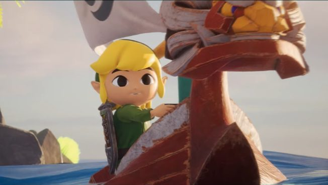 The Legend of Zelda: The Wind Waker Fan-Remake Unreal Engine