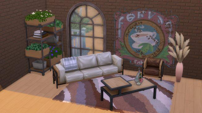 Sims 4 Industrie Loft