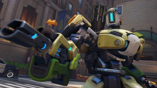 Bastion in Overwatch 2