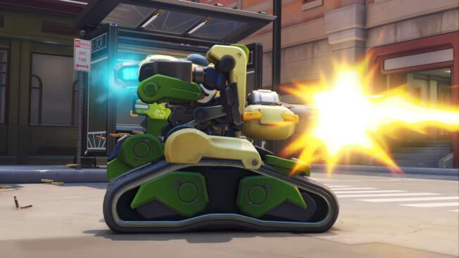 Bastion in Overwatch 2 - Sentry-Mode