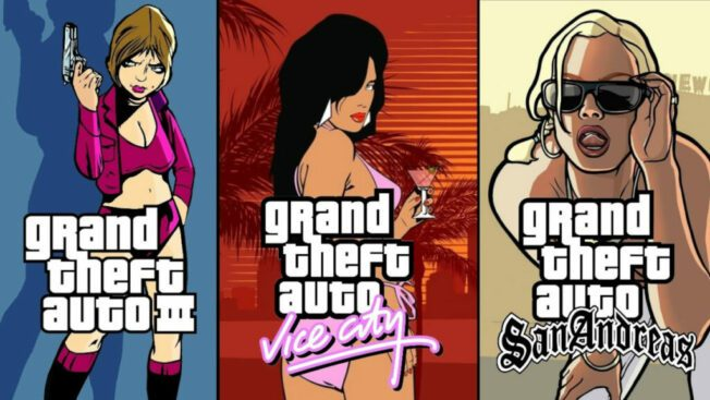 Grand Theft Auto GTA Remaster Collection Trilogy Definitive Edition