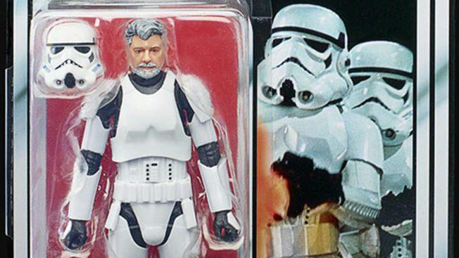 Star Wars The Black Series Stormtrooper George Lucas 3