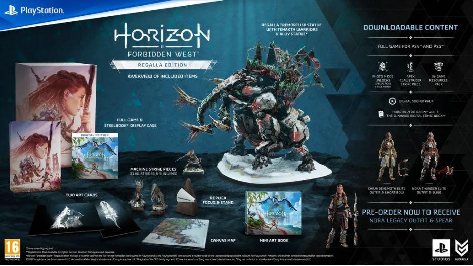 Horizon Forbidden West - Regalla Edition