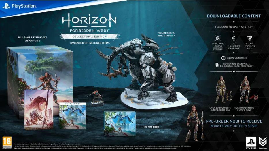 Horizon Forbidden West -  Collector Edition