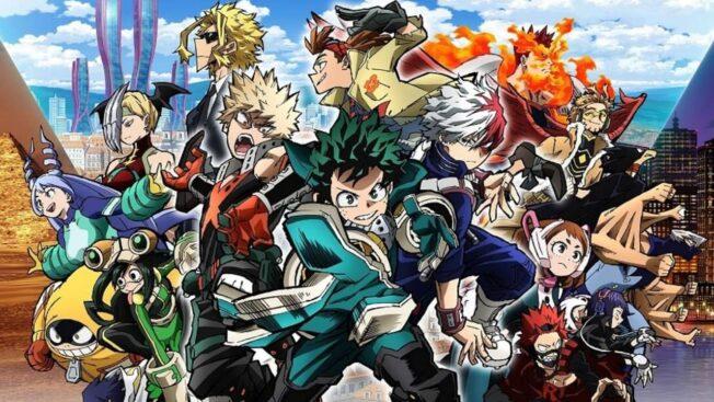 My Hero Academia: World Heroes Mission Anime-Film