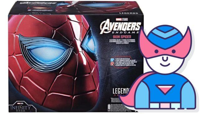 Spider-Man-Helm - Iron Spider aus Avengers Endgame