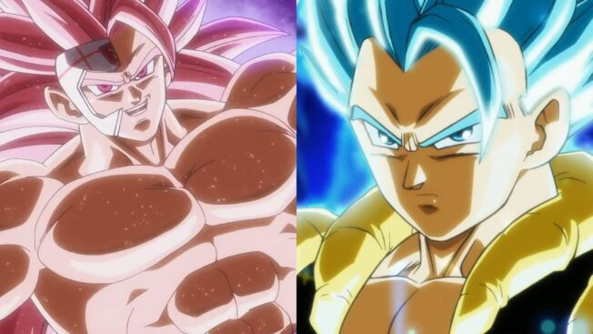 Super Dragon Ball Heroes Gogeta Goku Black