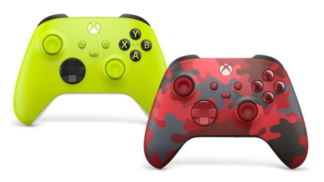 Xbox Wireless Controller Electric Volt und Daystrike Camo Special Edition
