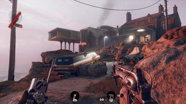 Deathloop Gameplay Maschinenpistole
