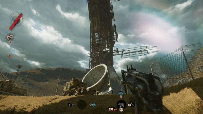 Deathloop Satellitenantenne