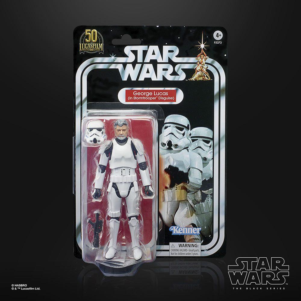 The Black Series Stormtrooper George Lucas - Packung