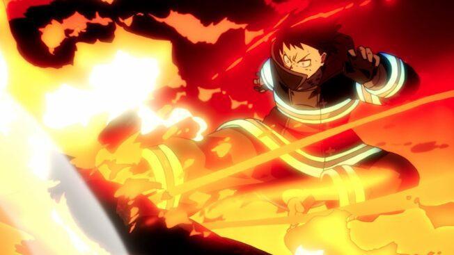 Fire Force Anime-Serie Japan