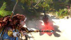 Aloy in neuem Gameplay-Clip zu Horizon 2 Forbidden West.