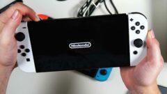 Nintendo Switch OLED - Bilder 1 - Unboxing