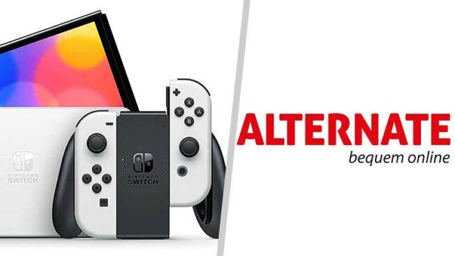 Switch OLED kaufen - Alternate