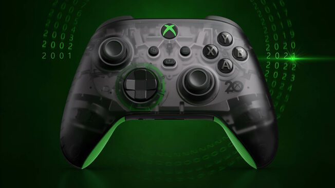 Xbox Wireless Controller 20 Jahre