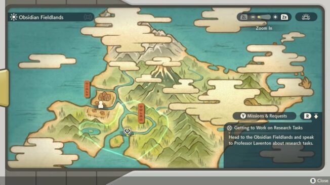 Pokémon-Legenden: Arceus Karte